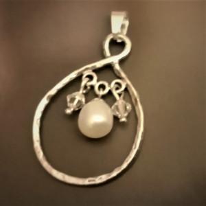 Pandantiv argint cu perla 4154SE
