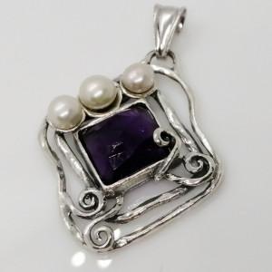 Pandantiv argint E5461-P onix