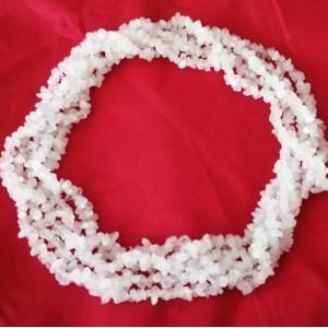 Sirag colier -cuart roz -VBJ010024