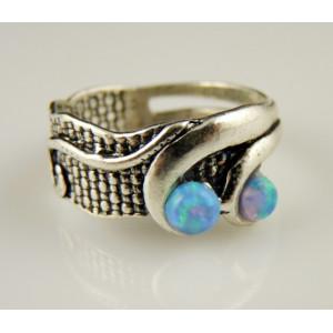 Inel argint opal A10707