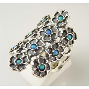 Inel argint opal R9196-1
