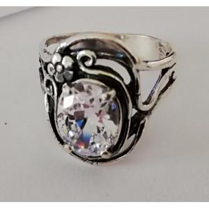 Inel argint ZIRCON R1008