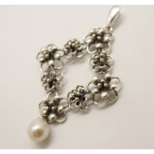 Pandantiv argint perla - E10861-2