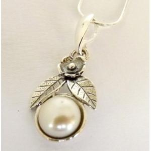 Colier din argint - perla E2762