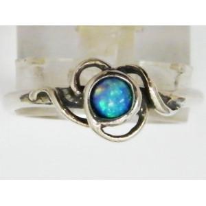 Inel argint R832 - opal nobil