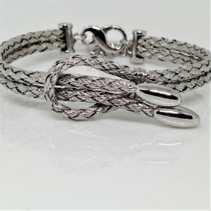 Bratara argint cu funda -BRSB0855RH