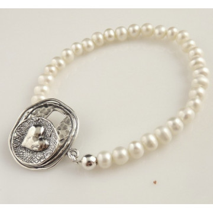 Bratara argint cu perle B1801
