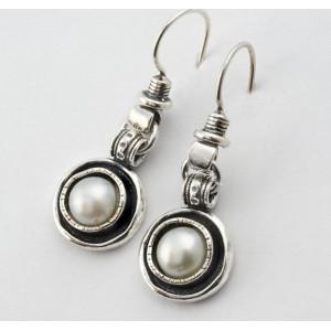 Cercei argint E490 PERLA