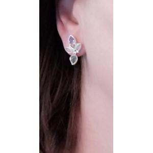 Cercei argint- EAR 304 -ametist ,piatra lunii ,labradorit