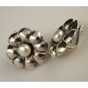 Cercei argint PERLA A30139