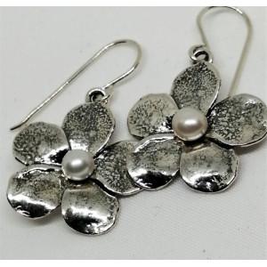 Cercei argint perla E1529