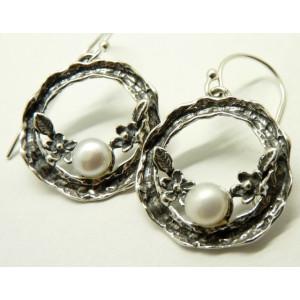 Cercei argint perla -E9534C