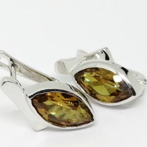Cercei argint -VE014040-nanozultanit