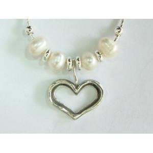 Colier argint cu perla - N433