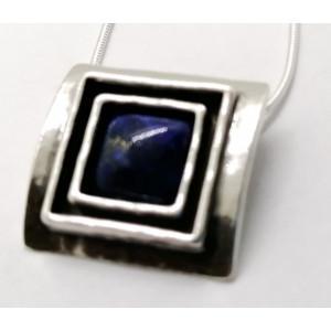 Colier argint N1844 -  lapis