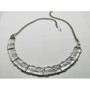 Colier argint statement N2351