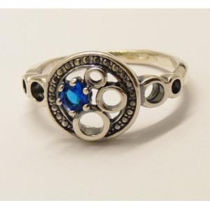 Inel argint  -blue quartz -R3445