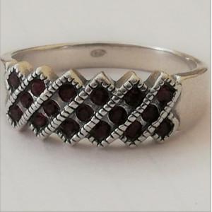 Inel argint delicat R3514- cubic zirconia
