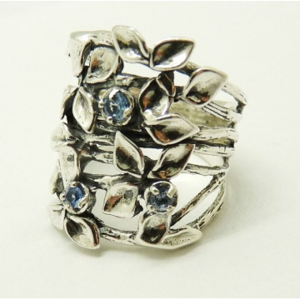 Inel argint R10340 topaz