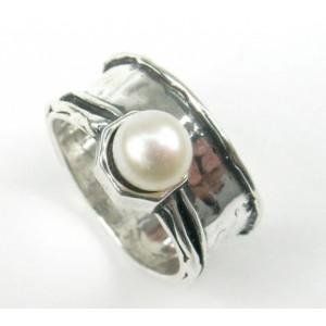 Inel argint R3949 - perla