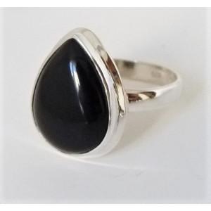 Inel argint RG181-onix