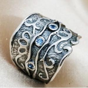 Inel argint topaz R1122