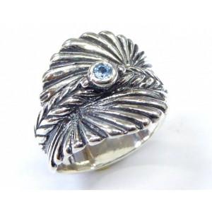 Inel argint topaz- R2290