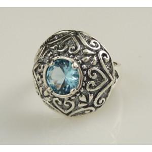 Inel argint topaz- R2718