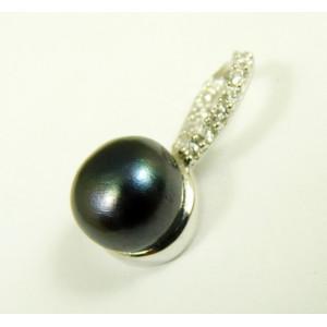 Pandantiv argint perle -VP015666