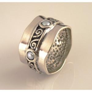Inel argint perla R10568-1