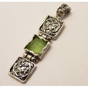 Pandantiv argint A20985 apple quartz