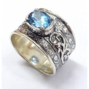 Inel argint topaz R2209