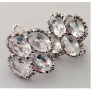 Cercei argint -VE012645 cristal