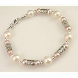 Bratara argint - perla-B4387-1