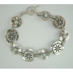 Bratara argint perla B810