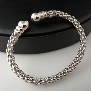 Bratara argint semideschisa -reglabila -BRSI0102RH6