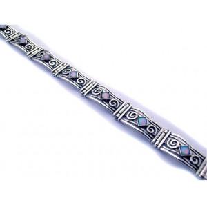Bratara dama din argint opal B2489