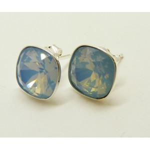 Cercei argint cristal E2604-bleu ciel