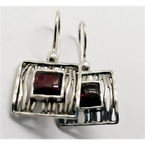 Cercei argint peridot -E2826