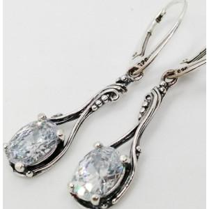 Cercei argint -zircon -E2761