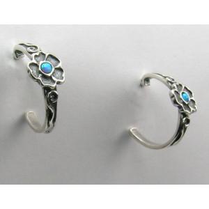 Cercei din argint cu opal E4912