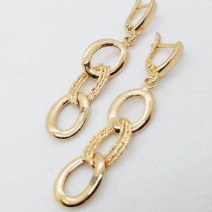 Cercei MILANO -argint placat cu aur galben-ORJJ1023RHRUS
