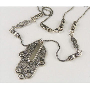 Colier argint Mana Fatimei N128