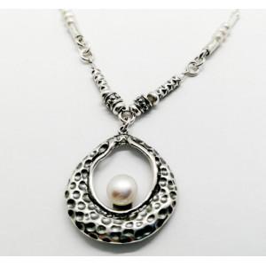 Colier argint si perle N2846