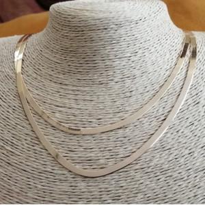 Coliere suprapuse- CARRARA-argint placat cu aur galben-N-SETS0071AG2FI