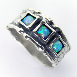 Inel argint opal R3230