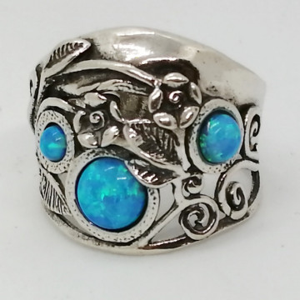 Inel argint opal R8360
