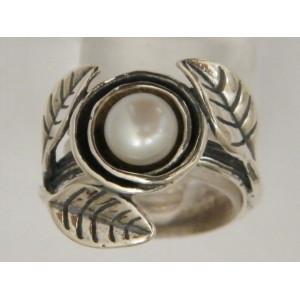 Inel argint perla R943