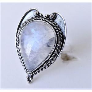 Inel argint piatra lunii RG89