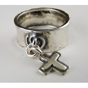Inel argint R458